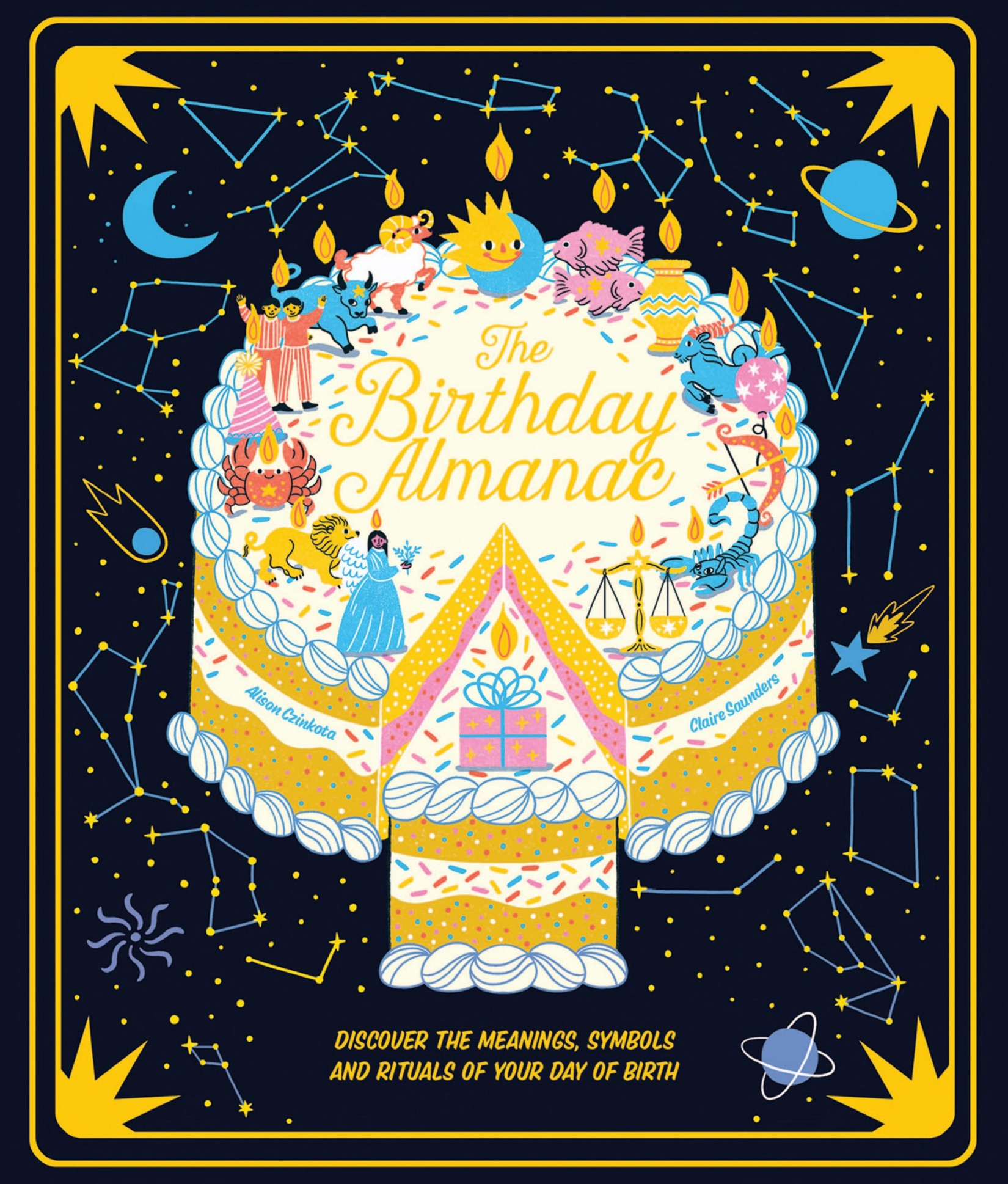 Book cover The Birthday Almanac: Discover the Meanings, Symbols and Rituals of Your Day of Birth