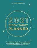Book cover 2021 Biddy Tarot Planner