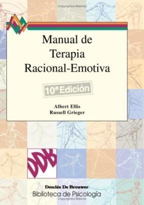Book cover Manual de terapia racional-emotiva