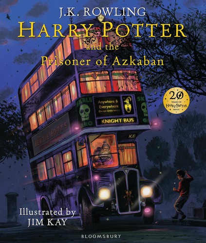 Book cover Harry Potter and the Prisoner of Azkaban: Illustrated Edition