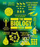 Book cover The Biology Book: Big Ideas Simply Explained