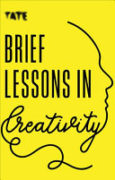 Book cover Brief Lessons in Creativity