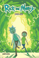 Book cover RickandMorty Book One: Deluxe Edition