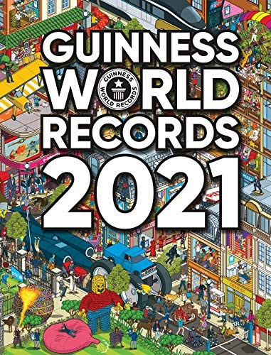 Book cover Guinness World Records 2021