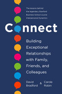 Book cover Connect: Building Exceptional Relationships With Family, Friends, and Colleagues
