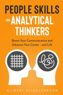 Book cover People Skills for Analytical Thinkers
