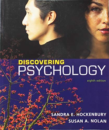 Book cover Discovering Psychology