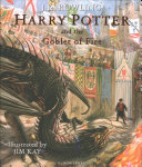 Book cover Harry Potter and the Goblet of Fire: Illustrated Edition
