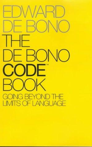Book cover The De Bono Code Book