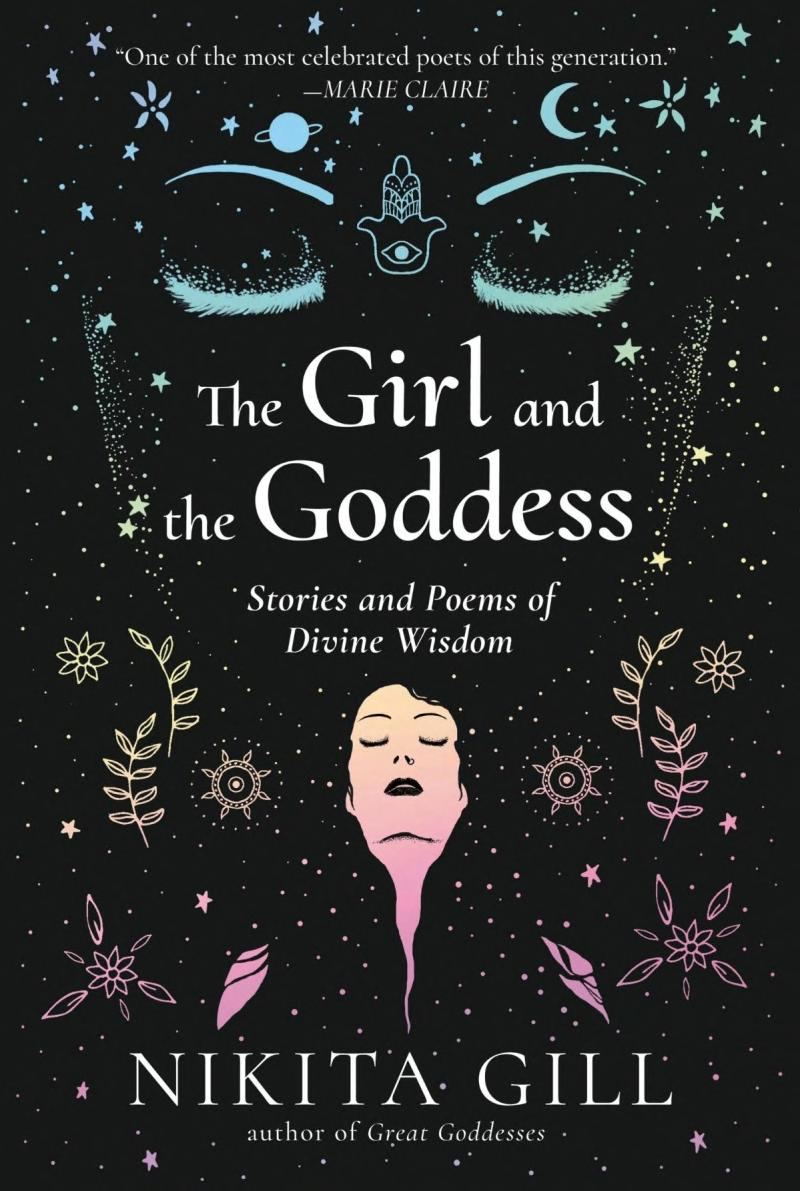 Book cover The Girl and the Goddess: Stories and Poems of Divine Wisdom