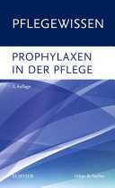 Book cover Prophylaxen in der Pflege