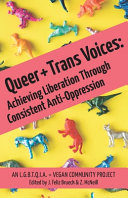 Book cover Queer and Trans Voices