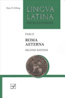 Book cover Roma Aeterna: Second Edition, with Full Color Illustrations (Lingua Latina) (Latin Edition)
