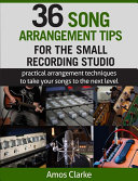 Book cover Song Arrangement for the Small Recording Studio