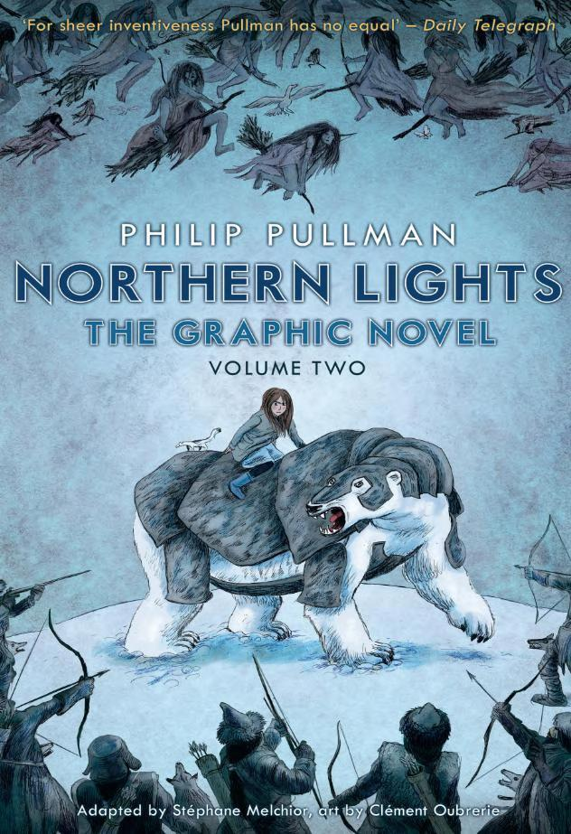 Book cover Northern Lights: The Graphic Novel