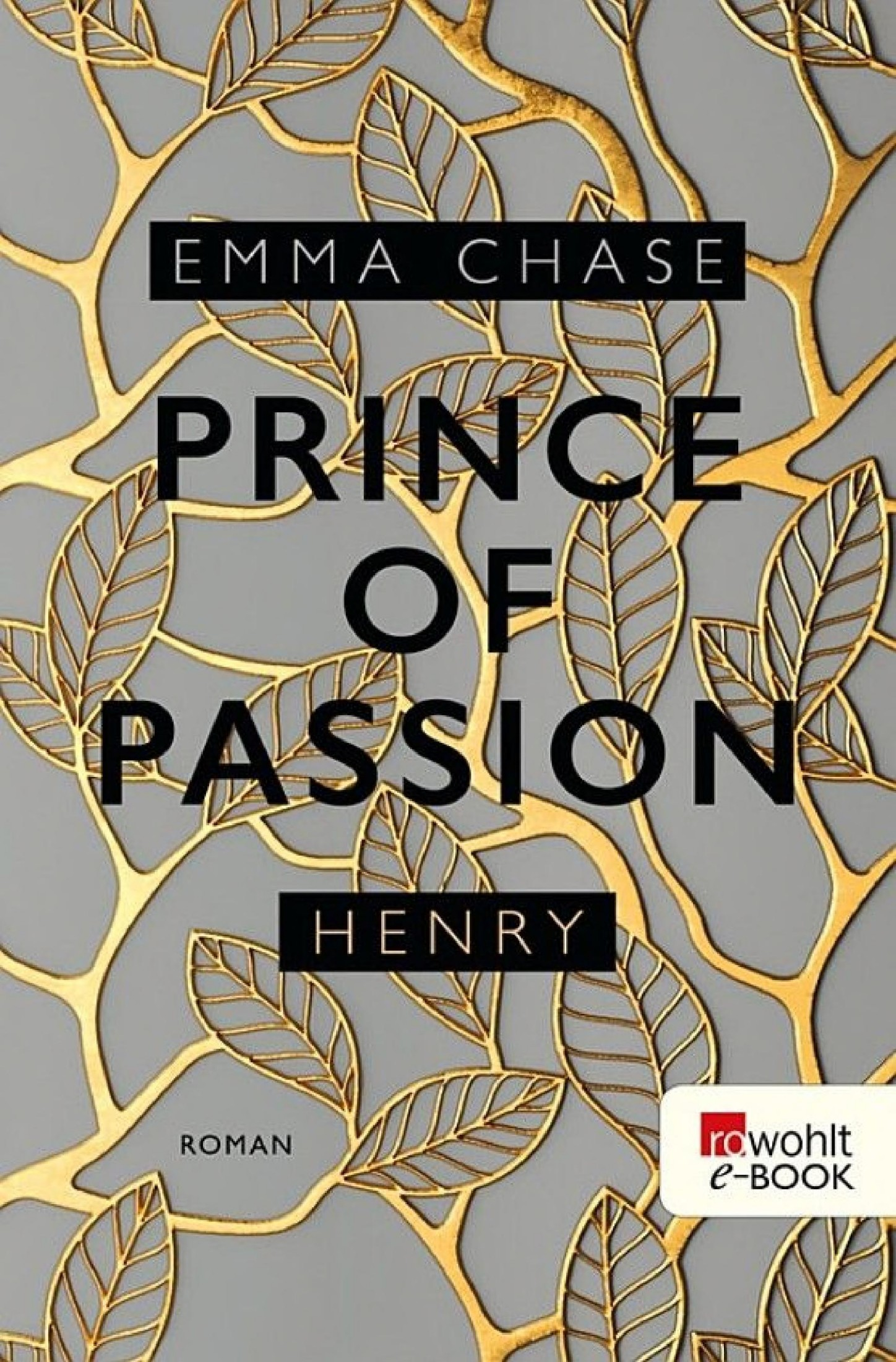 Book cover Prince of Passion – Henry