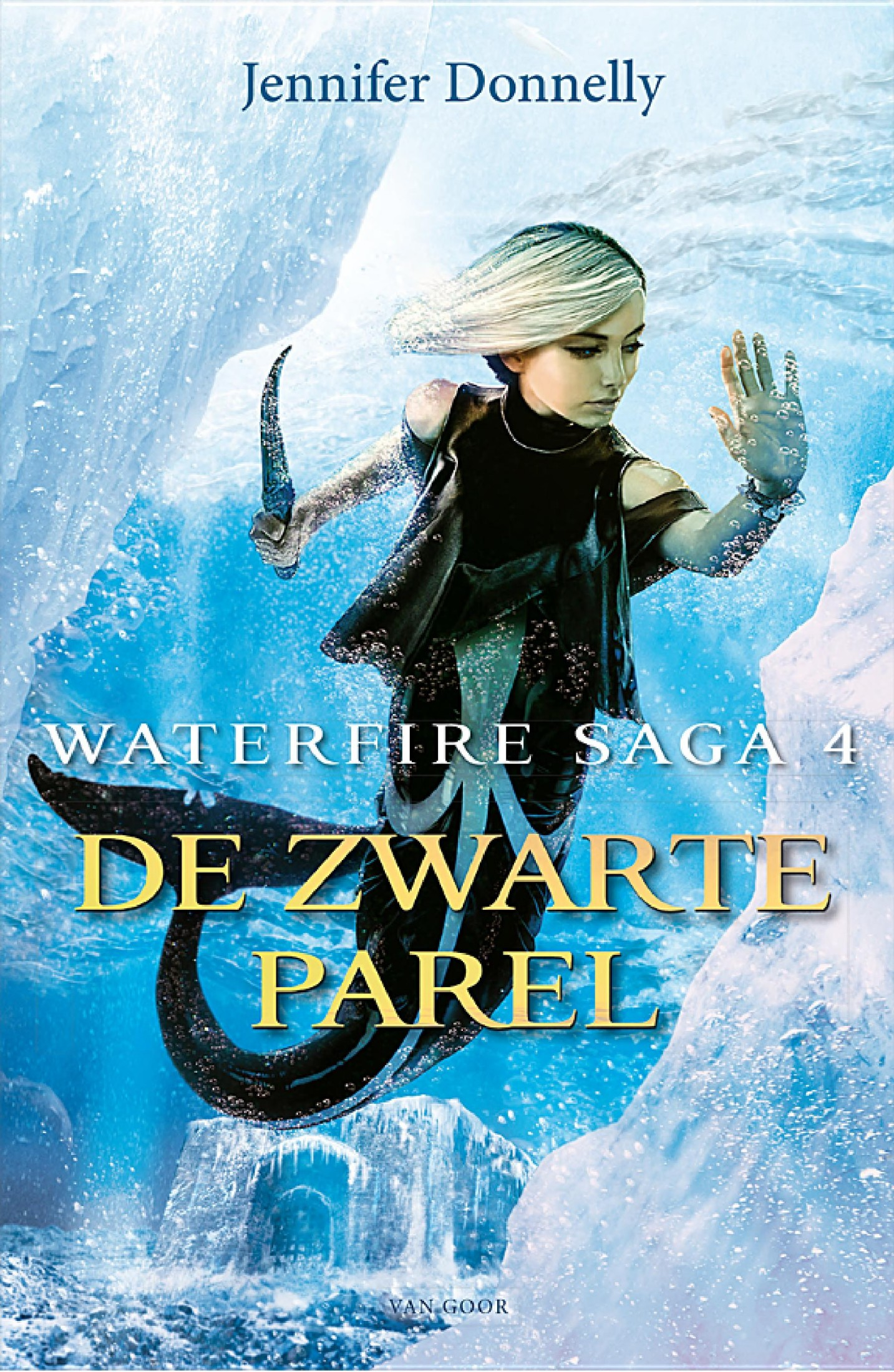 Book cover De zwarte parel