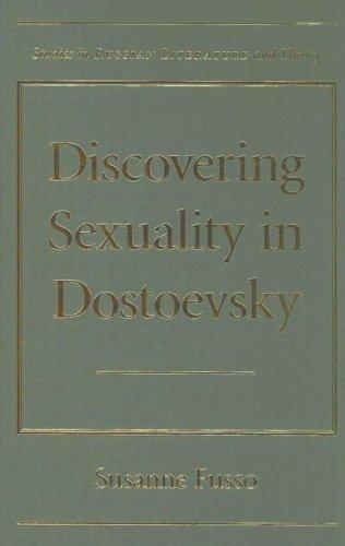Book cover Discovering Sexuality in Dostoevsky