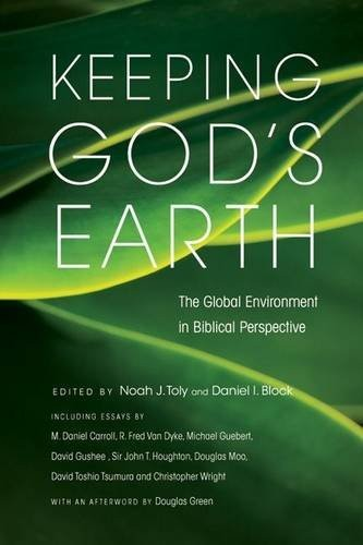 Book cover Keeping God's Earth: The Global Environment in Biblical Perspective