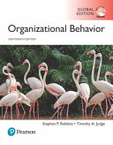 Book cover Organizational Behavior, Global Edition