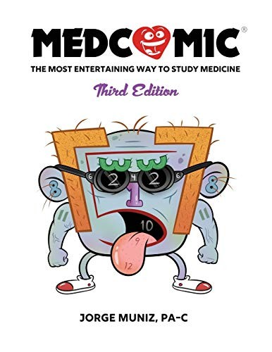 Book cover Medcomic: The Most Entertaining Way to Study Medicine, Third Edition
