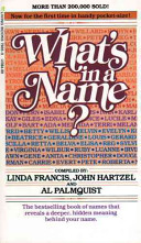 Book cover What's in a Name?