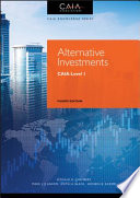 Book cover Alternative Investments: CAIA Level I (Wiley Finance)