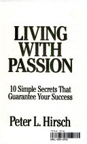 Book cover Living with Passion