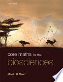 Book cover Core Maths for the Biosciences