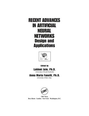 Recent Advances in Artificial Neural Networks. Design and Applications