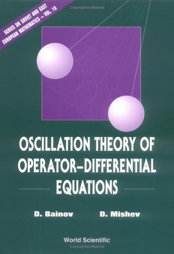 Oscillation theory of operator-differential equations