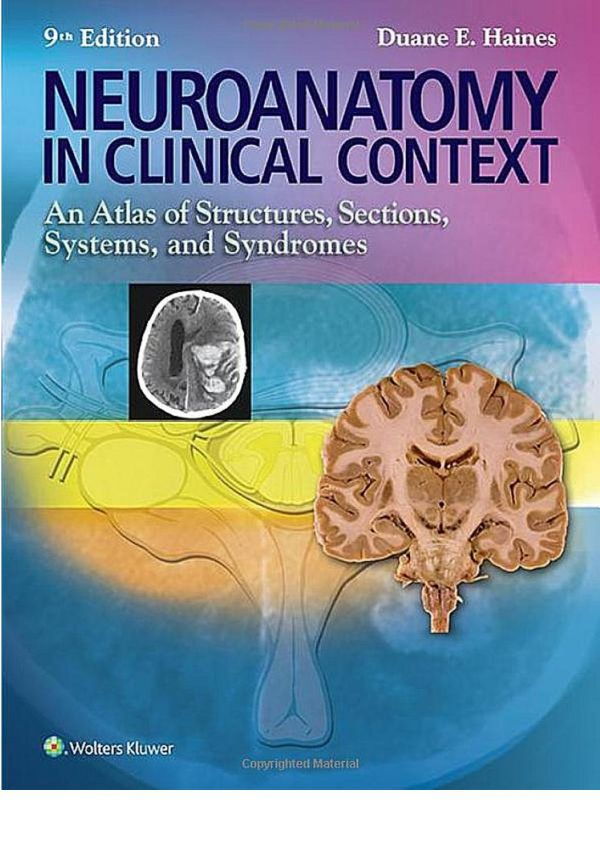Neuroanatomy in Clinical Context - An Atlas of Structures, Sections, Systems, and Syndromes (9th Ed.) – Wolters Kluwer Health