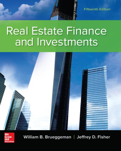 Real estate finance and investments brueggeman pdf to word free complete forex trading course