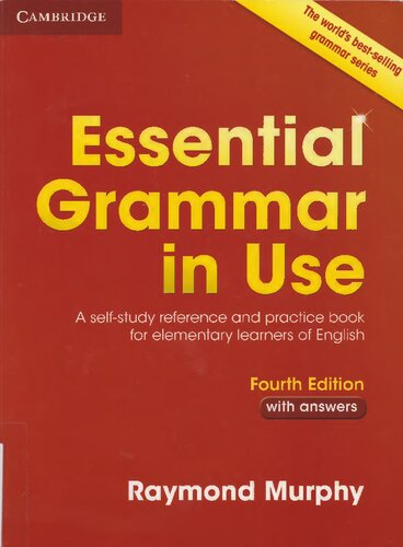 Essential Grammar in Use with Answers, 4th Edition