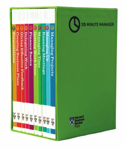 HBR 20-Minute Manager Boxed Set (10 Books)