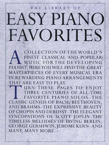 Easy Piano Favorites: The Library of Series