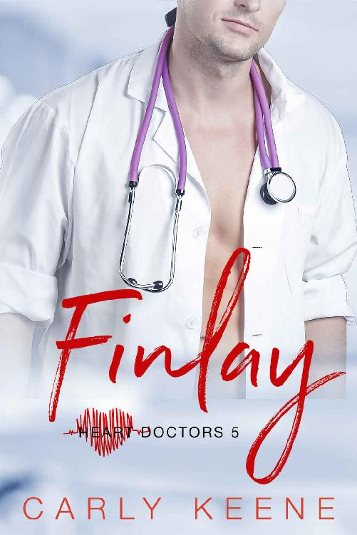 Finlay: A Short Sweet Steamy Second Chance Instalove Older Man/Younger Curvy Woman Romance (Heart Doctors Book 4)