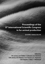 Proceedings of the Xth International Scientific Congress in fur animal production: Scientifur volume 36 (3/4)