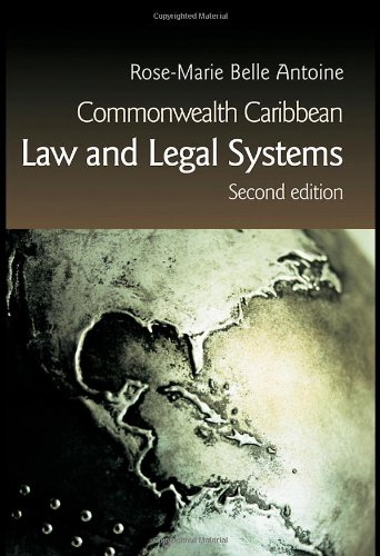 Commonwealth Caribbean Law and Legal Systems 2 e (Commonwealth Caribbean Law)