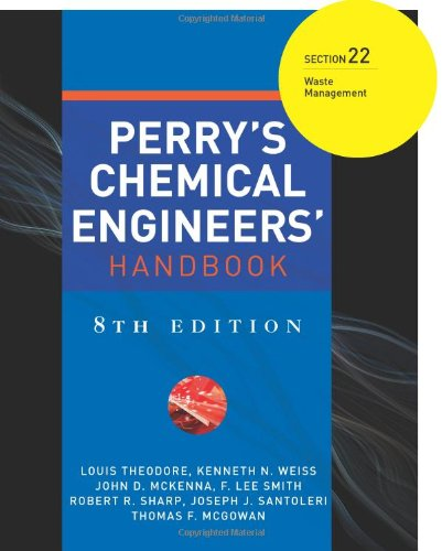 Perry's Chemical Engineers' Handbook. Section 22