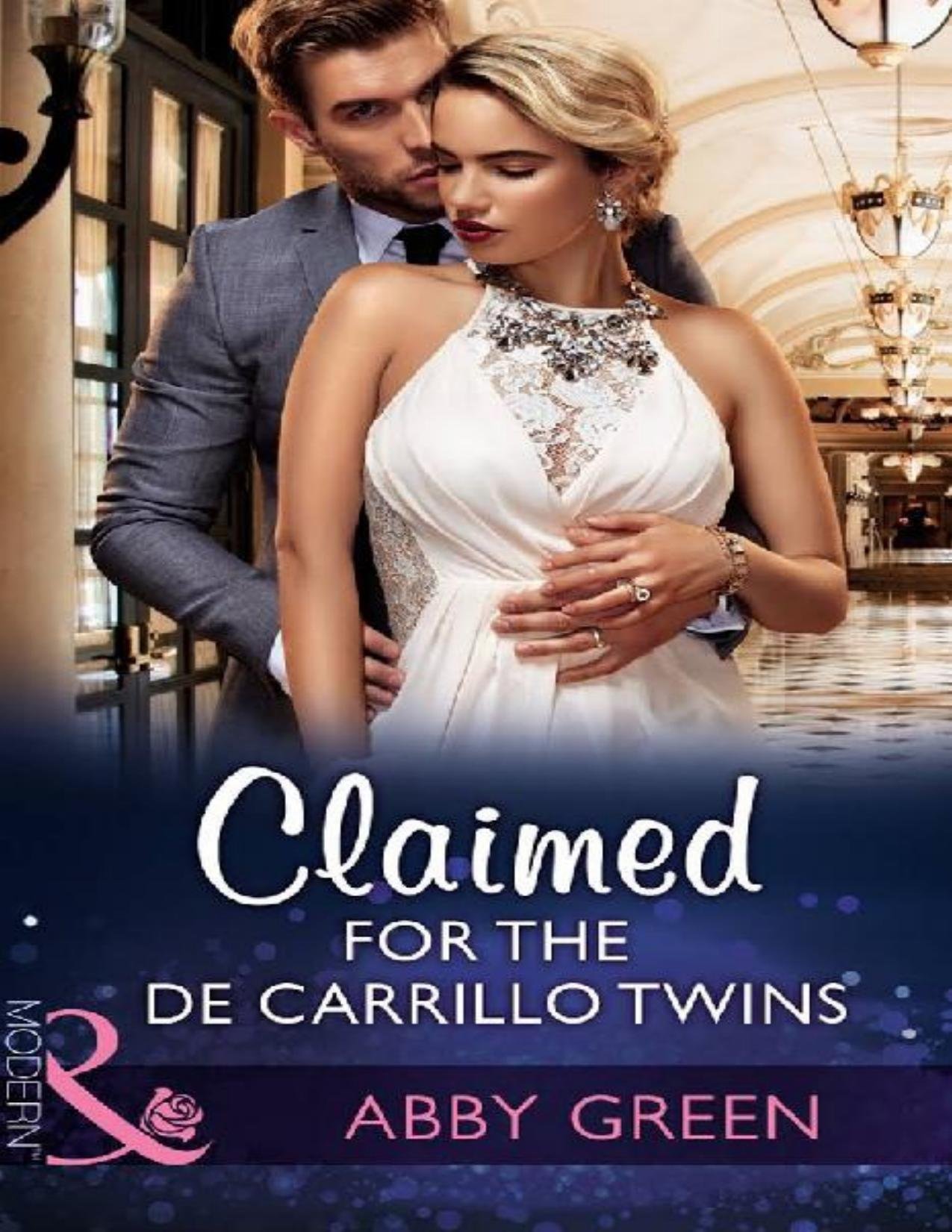 Claimed for the De Carrillo Twins (Wedlocked! Book #84)