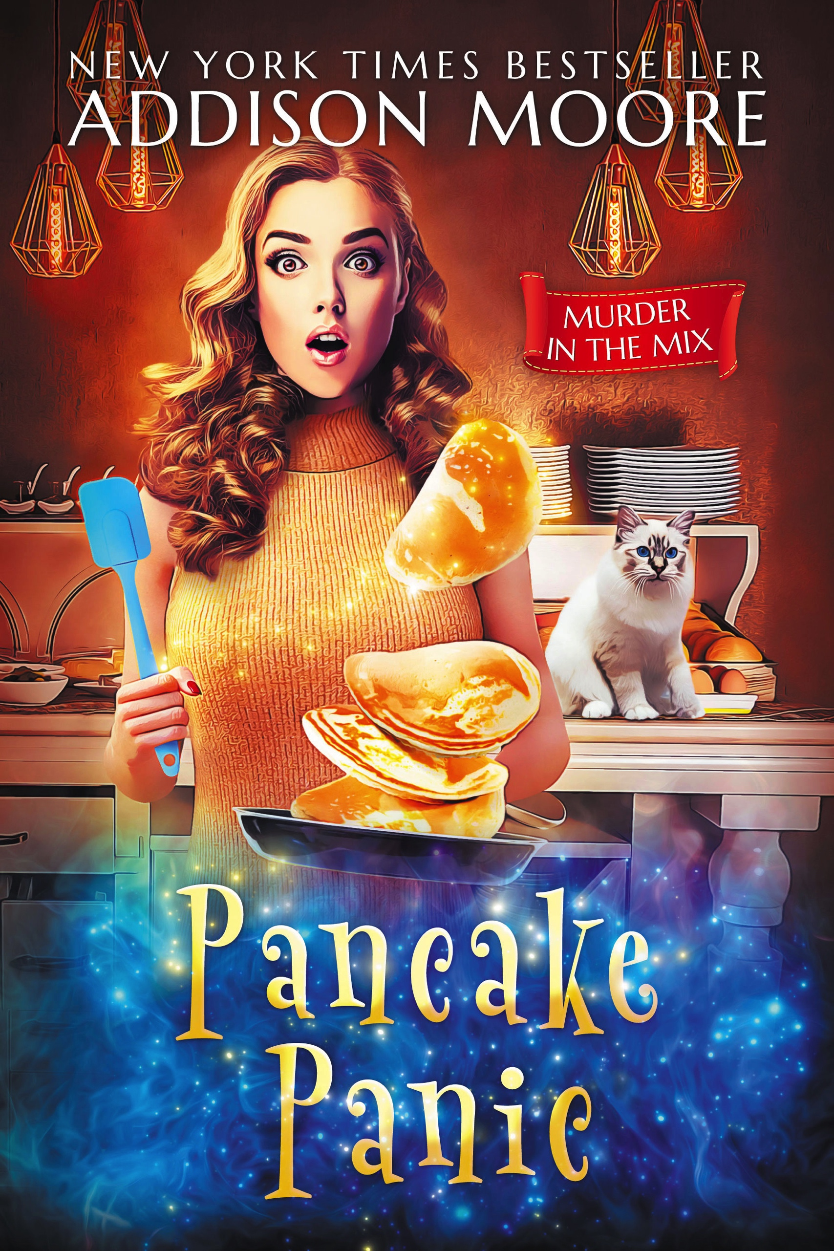 Pancake Panic (Murder in the Mix 17)