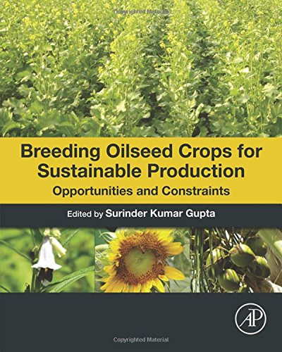Breeding oilseed crops for sustainable production : opportunities and constraints