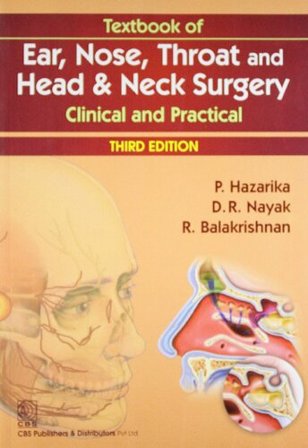 Textbook Of Ear Nose Throat Head And Neck Surgery Clinical And Practical 3rd Edition Pdf Hazarika Download