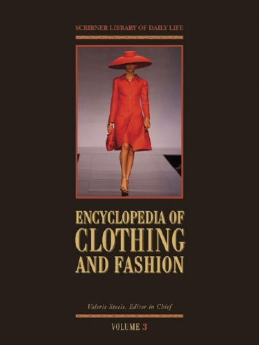 Encyclopedia Of Clothing And Fashion 3 Volume Set Valerie Steele Download