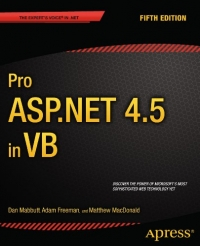 Pro ASP.NET 4.5 in VB, 5th Edition
