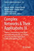 Complex Networks & Their Applications IX: Volume 1, Proceedings of the Ninth International Conference on Complex Networks and Their Applications COMPLEX NETWORKS 2020