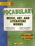 Music, Art and Literature (Vocabulary in Context)