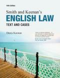 Smith & Keenan's English law : text and cases