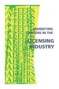 Marketing Careers in the Licensing Industry